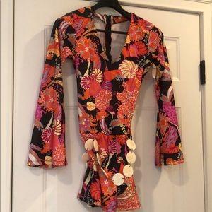 Leg Avenue Go Go Or hippy Dress S/m